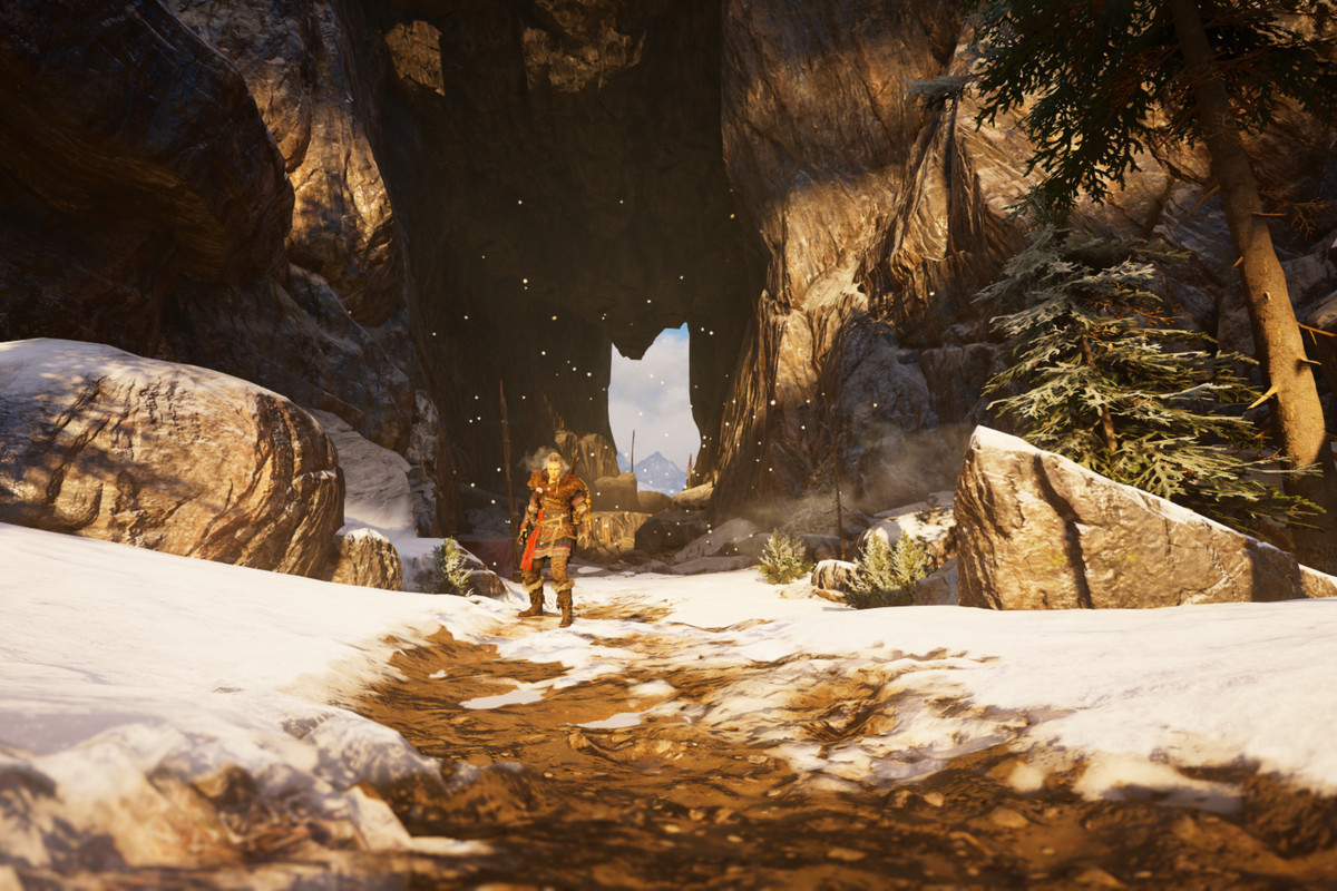 Torghatten Rock's eye in Assassin's Creed Odyssey