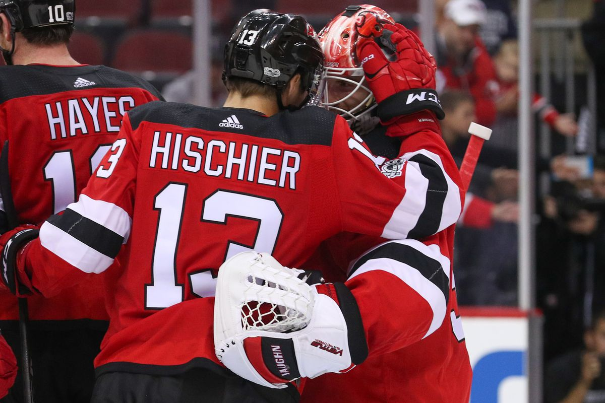 caa0f751b0d New Jersey Devils Defeat Washington Capitals 4-1 in a Game of Whistles and  Wow