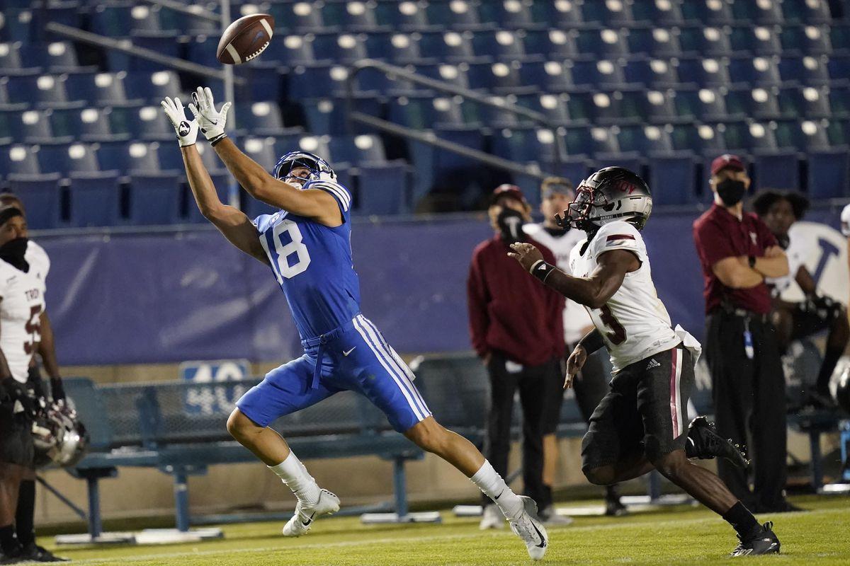 NCAA Football: Troy at BYU