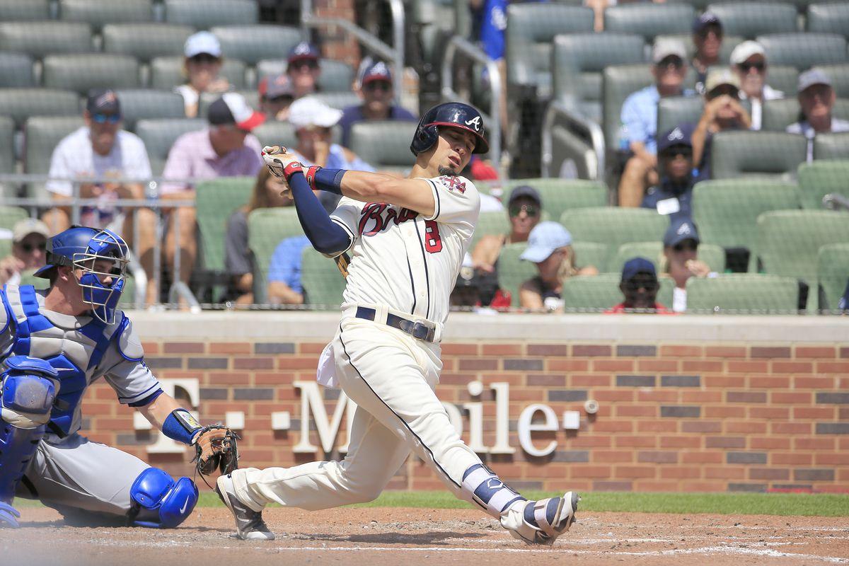 MLB: AUG 18 Dodgers at Braves