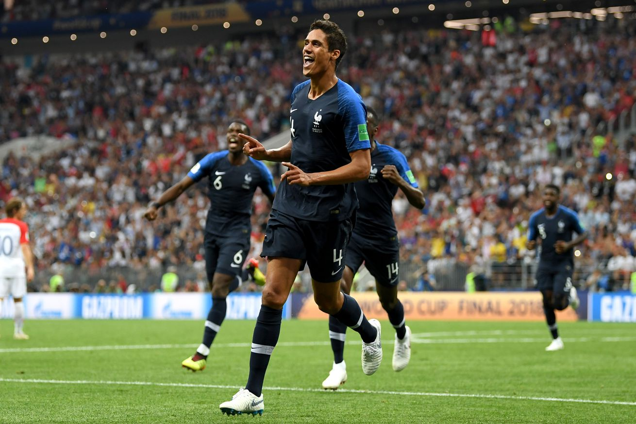 Varane and Kroos both feature as France surge to late victory and Germany fall again