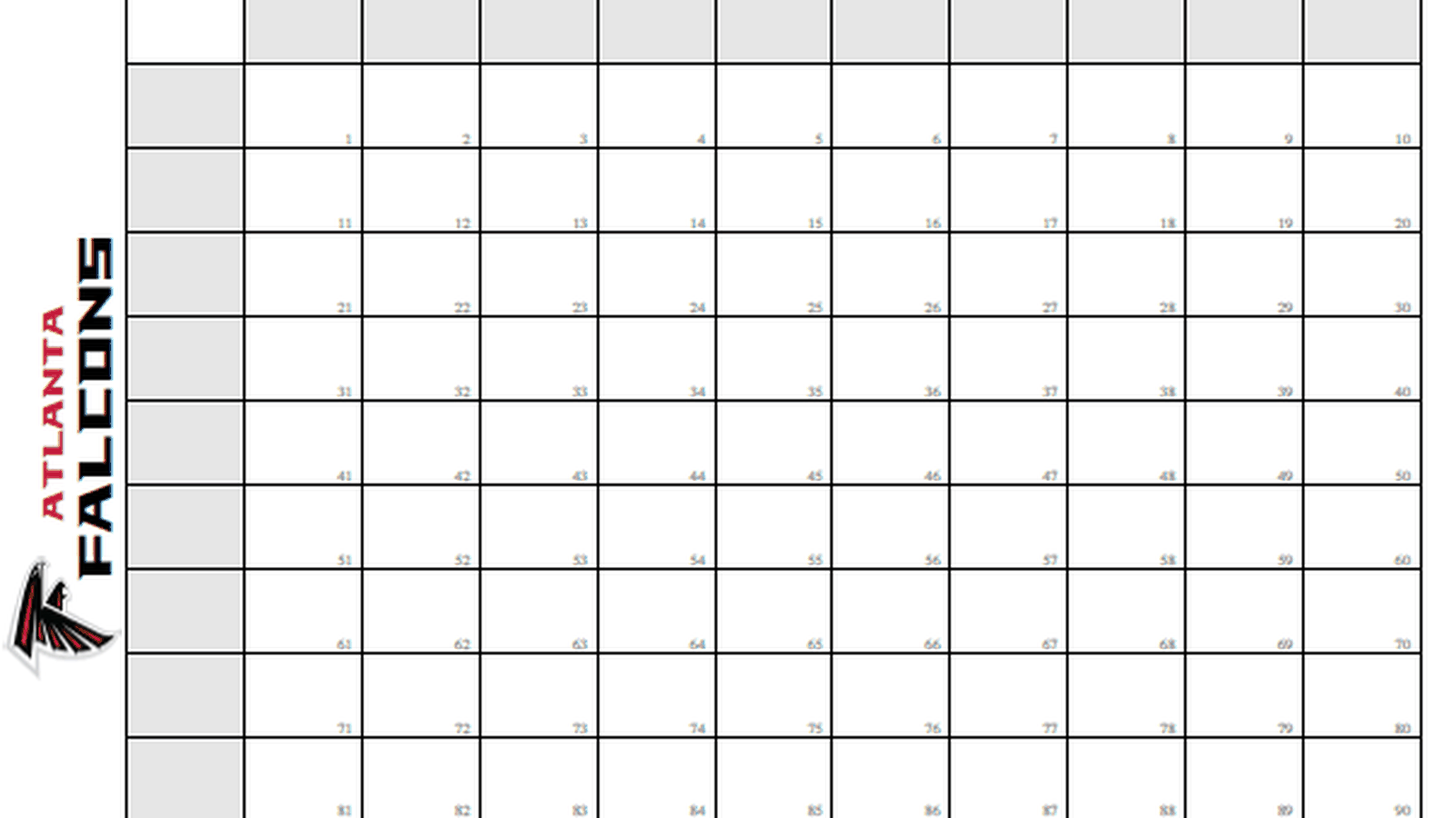 Super bowl squares template how to play sbnation maxwellsz