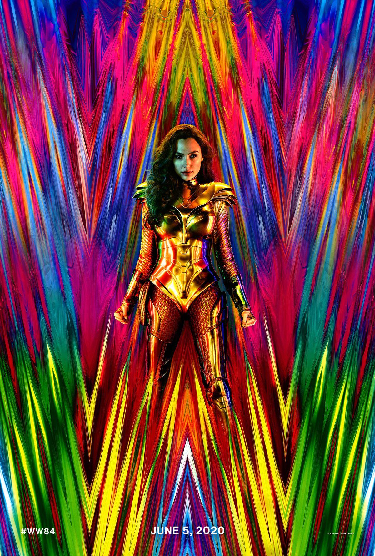神奇女侠在令人眼花缭乱的新海报中充满了仙境传说