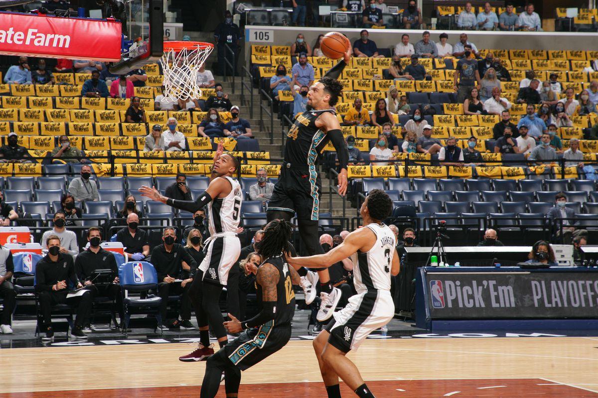 Play-In Tournament - San Antonio Spurs v Memphis Grizzlies