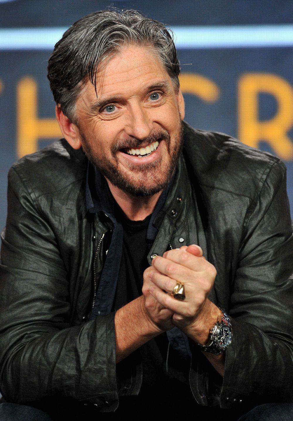 Craig Ferguson speaks onstage during the Television Critics Association Press Tour on January 6, 2016, in Pasadena, California.  (Photo by Jerod Harris/Getty Images