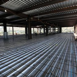 Tenth floor of the new patient tower at Utah Valley Hospital in Provo on Tuesday, July 5, 2016. The floor will be left as a shell until the space is needed in the future.