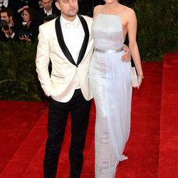 Joshua Jackson and Diane Kruger in Hugo Boss