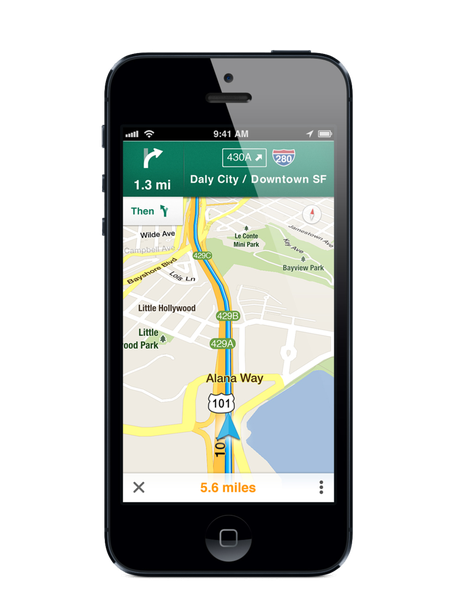 gps app for iphone maps for iphone is here how data and design beat 3649