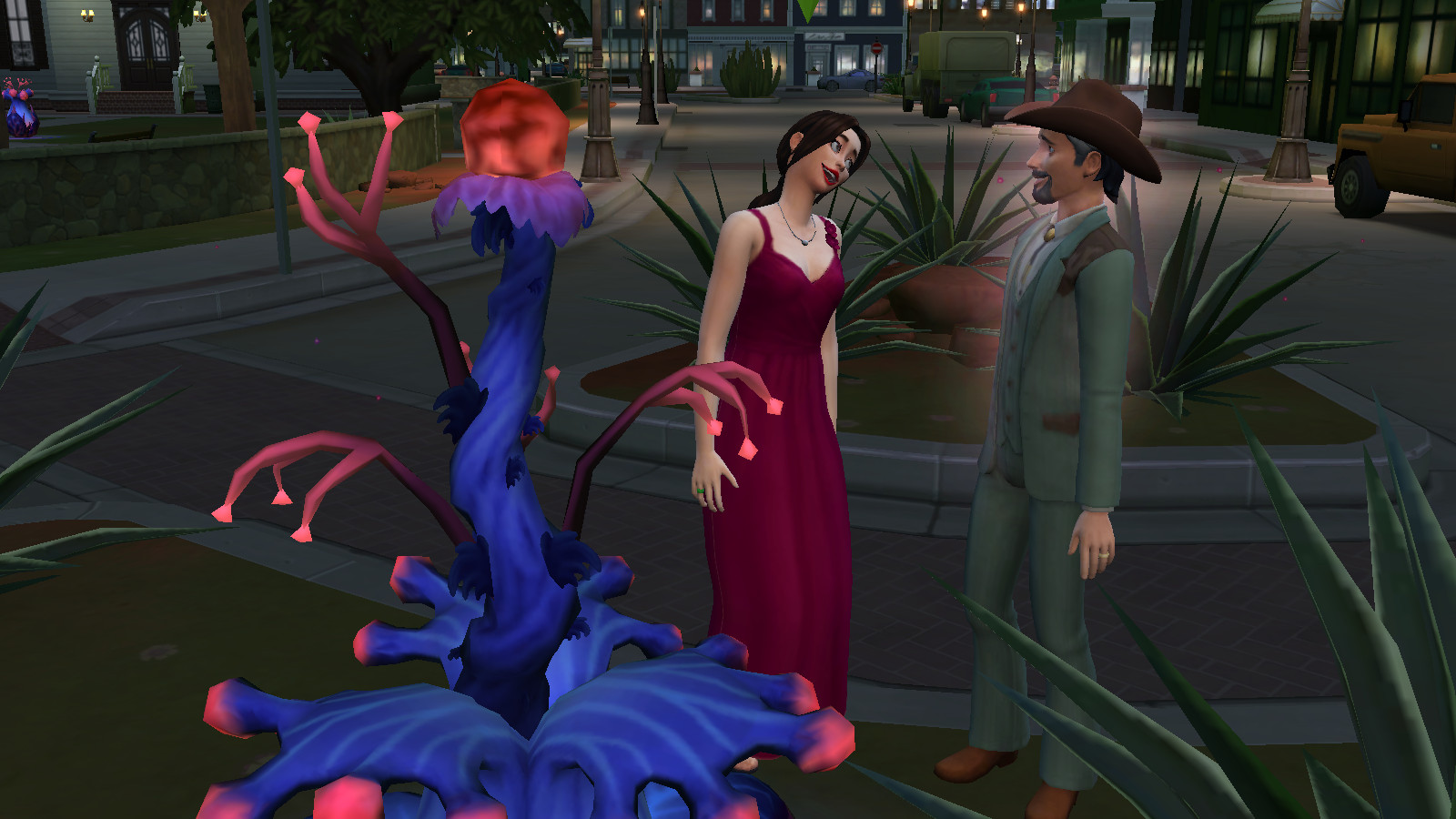 The Sims 4: StrangerVille is rich with potential, but feels empty