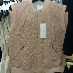 Quilted vest, size 4, $259 (was $895)