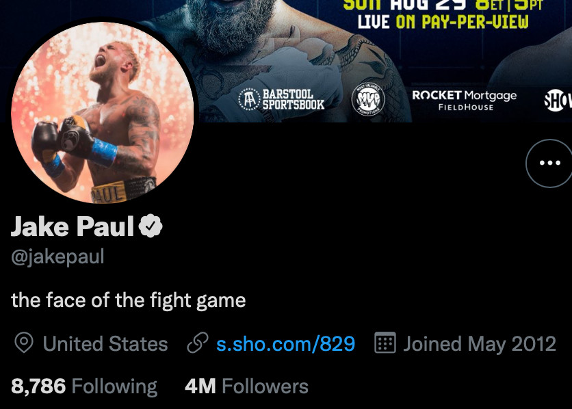 """Jake Paul declares himself """"the face of the fight game"""""""