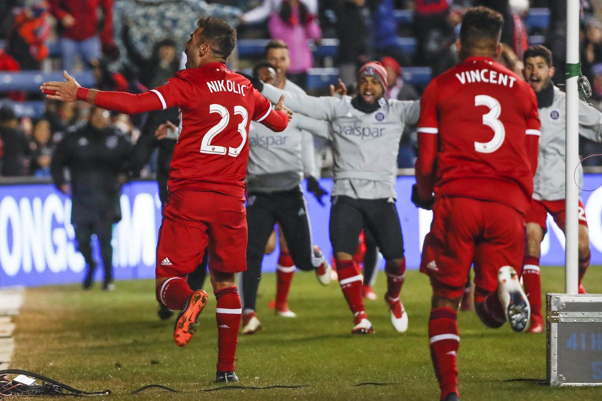 MLS: Sporting KC at Chicago Fire