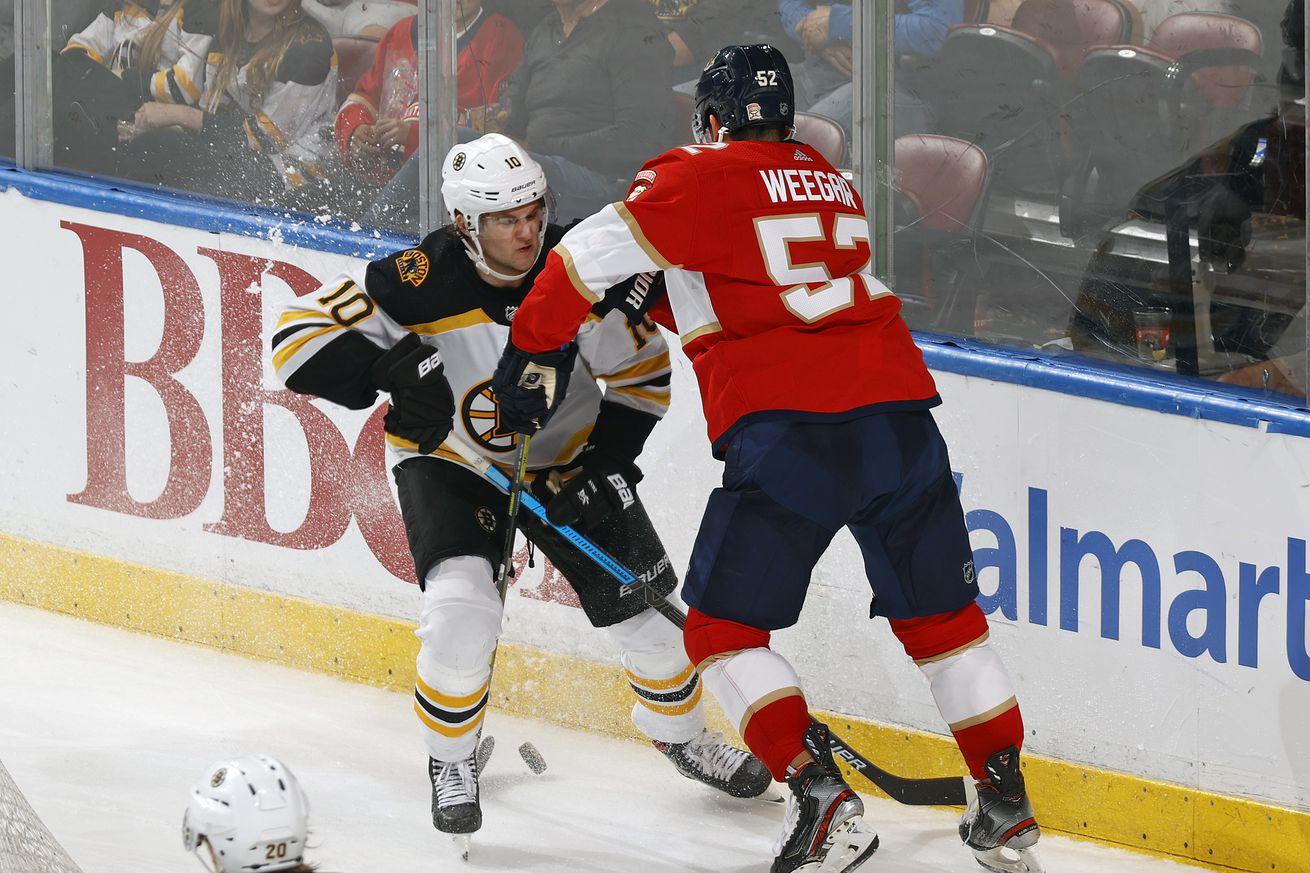 NHL: MAR 05 Bruins at Panthers