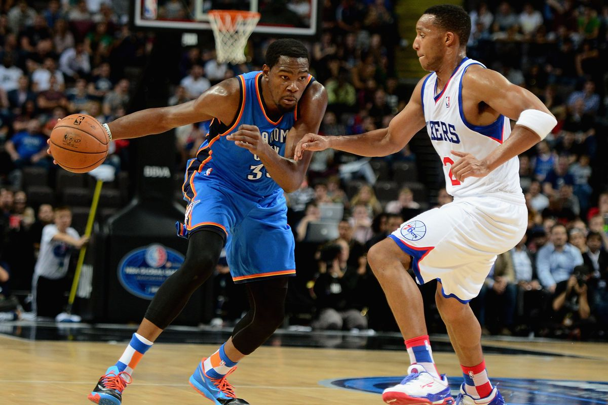 322a5d87a NBA scores  Kevin Durant finds rhythm late as Thunder edge Sixers ...