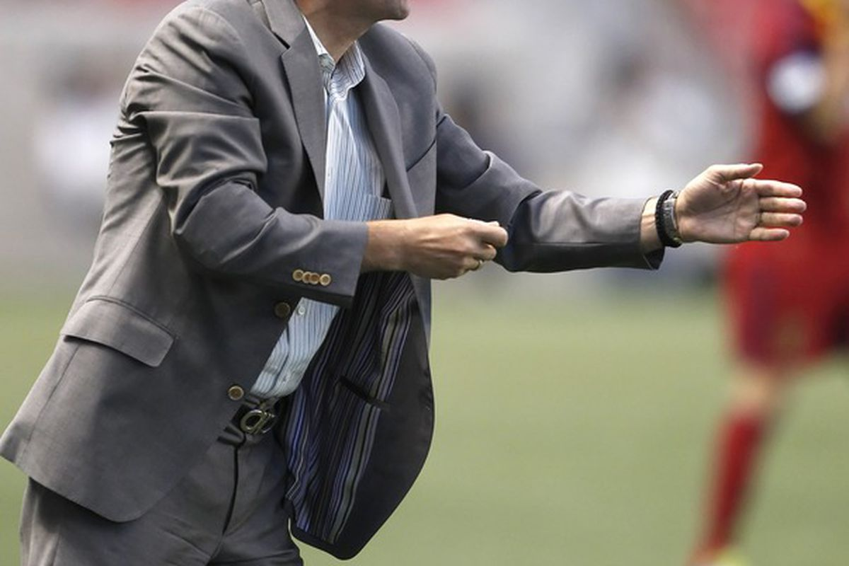 On Saturday, Klopas will be looking for his first win in 2012