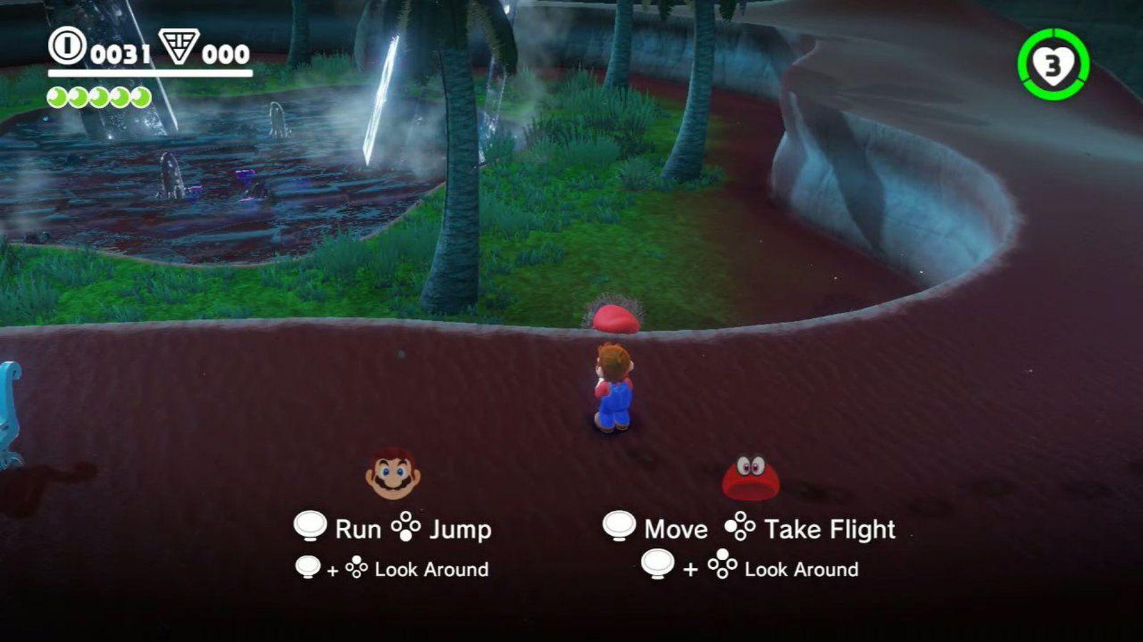 Super Mario Odyssey has coop