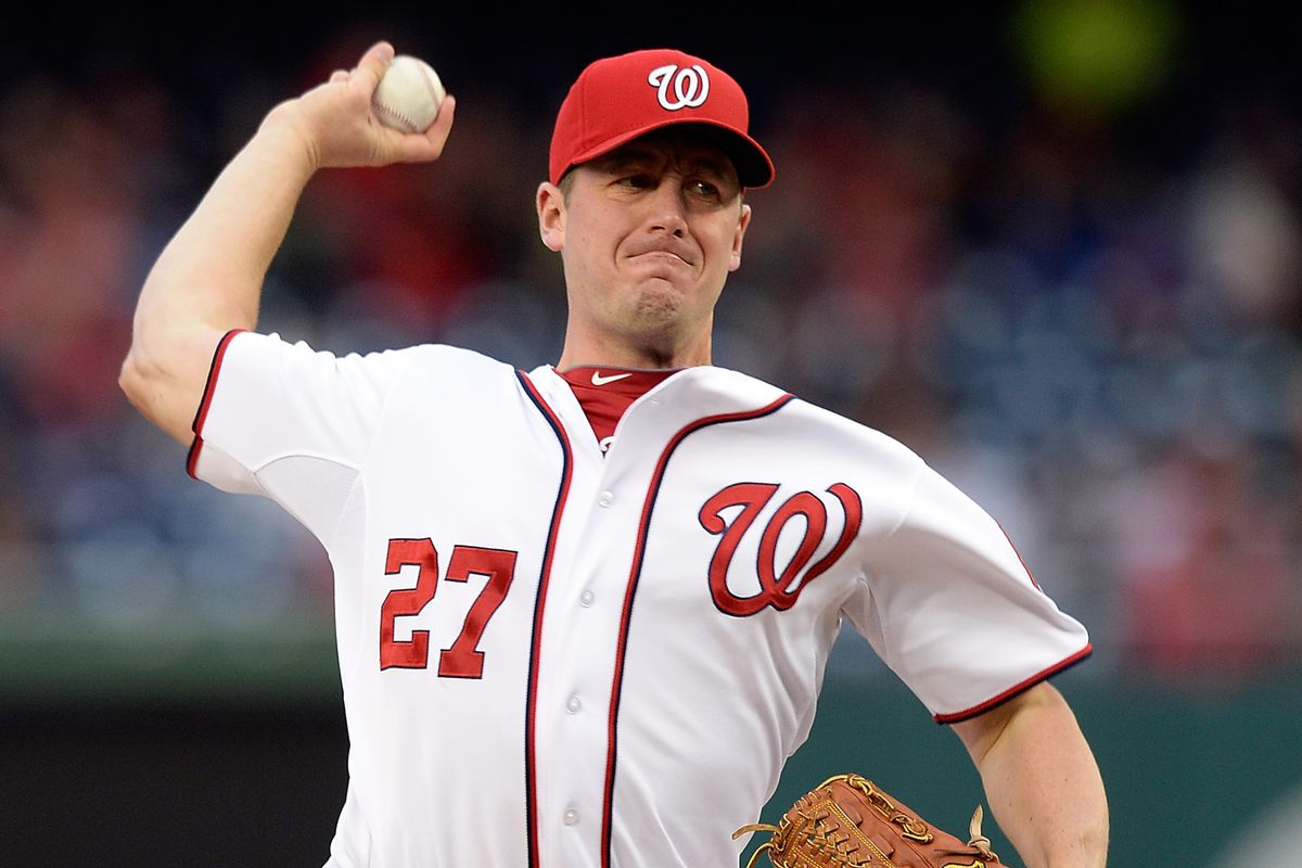 Washington Nationals Rewind: Jordan Zimmermann Once Pitched With ...