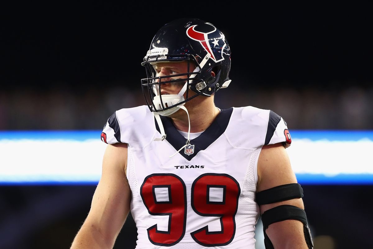 JJ Watt dubs Top 100 list a joke, for unlikely reasons