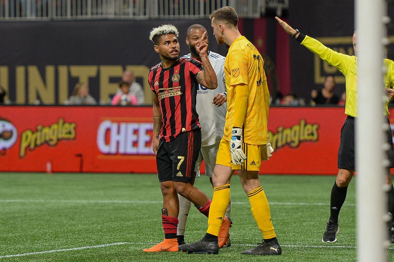 SOCCER: OCT 19 MLS Cup Playoffs - New England Revolution at Atlanta United FC