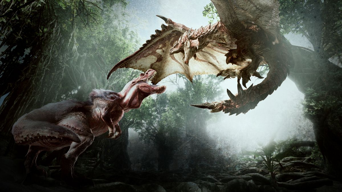 How New Technology Helped Make Monster Hunter World S Beasts Even