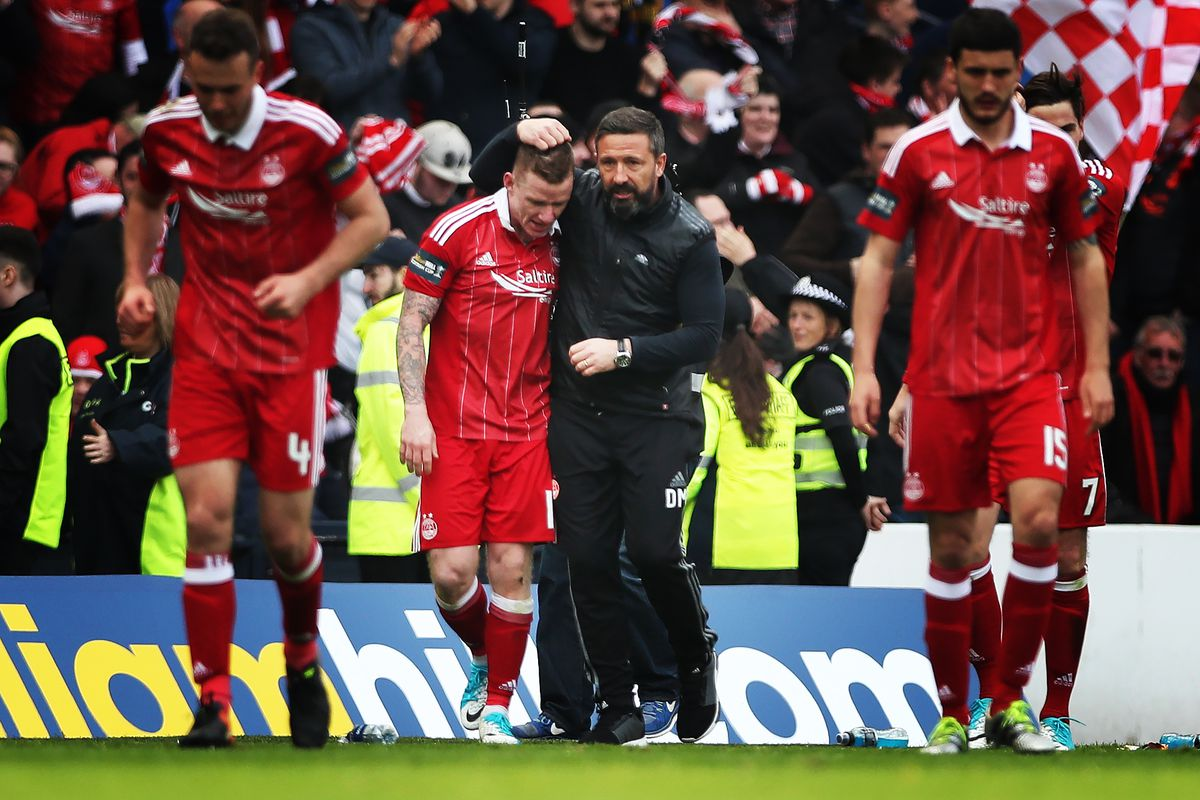 Interest in Aberdeen boss Derek McInnes to be expected, says Jonny Hayes
