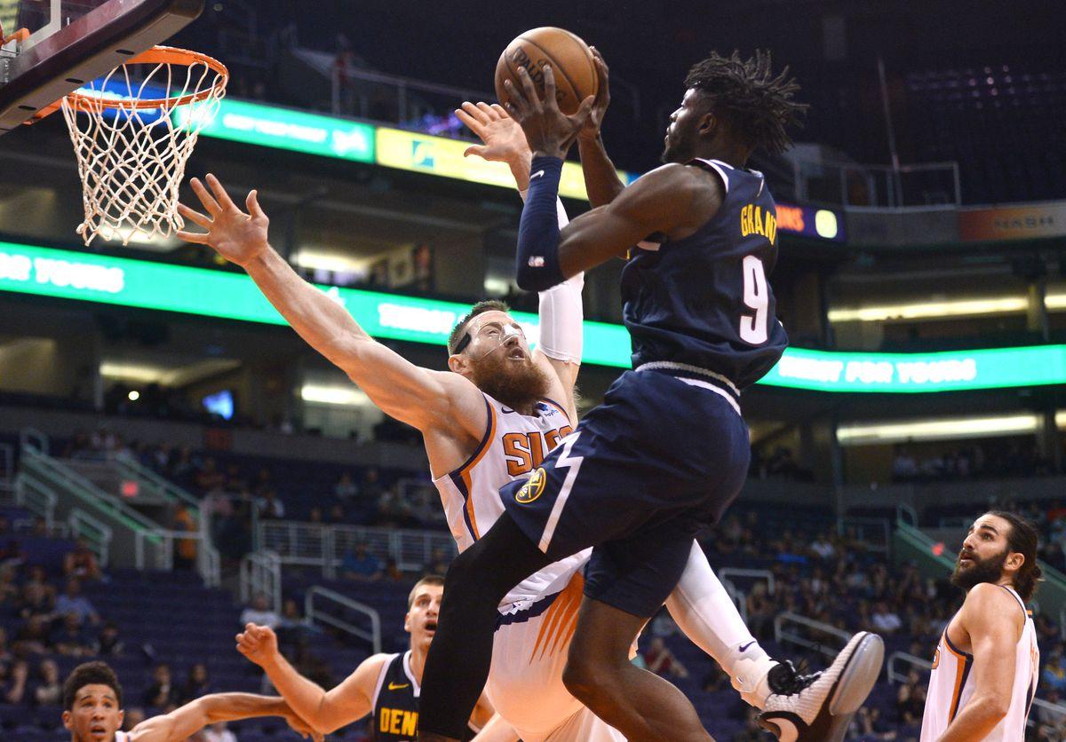 NBA: Preseason-Denver Nuggets at Phoenix Suns
