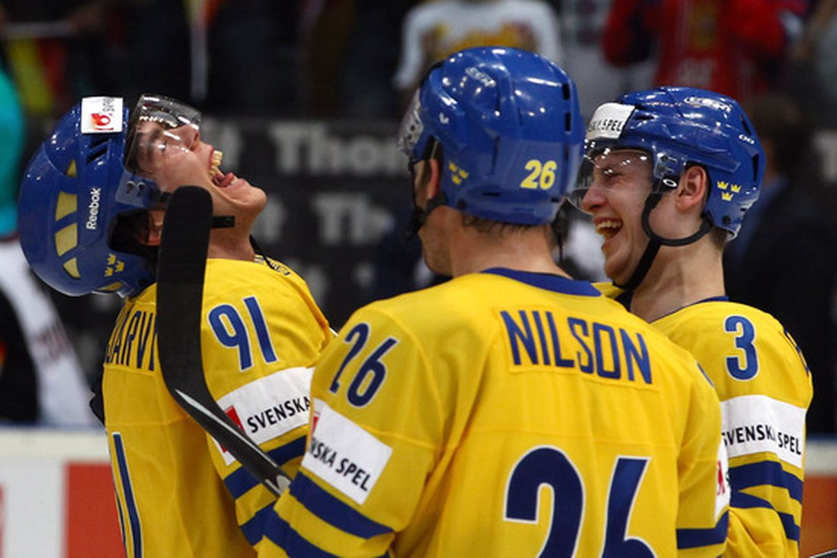 Magnus Paajarvi-Svensson laughs in the face of doubt.