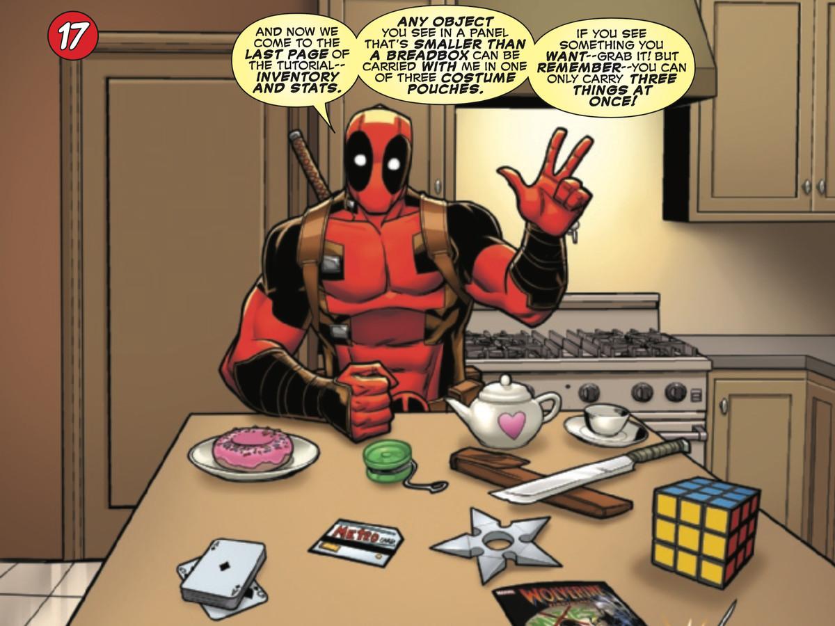 漫威的新Deadpool漫画也是一款令人惊讶的精彩游戏