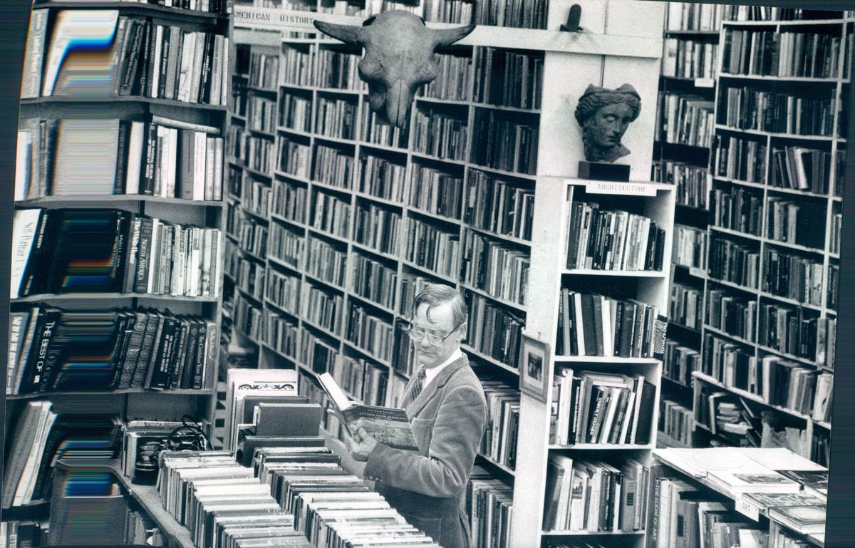 Michael Murrin regularly shopped at the old O'Gara & Wilson's books to look for reading material for his classes.