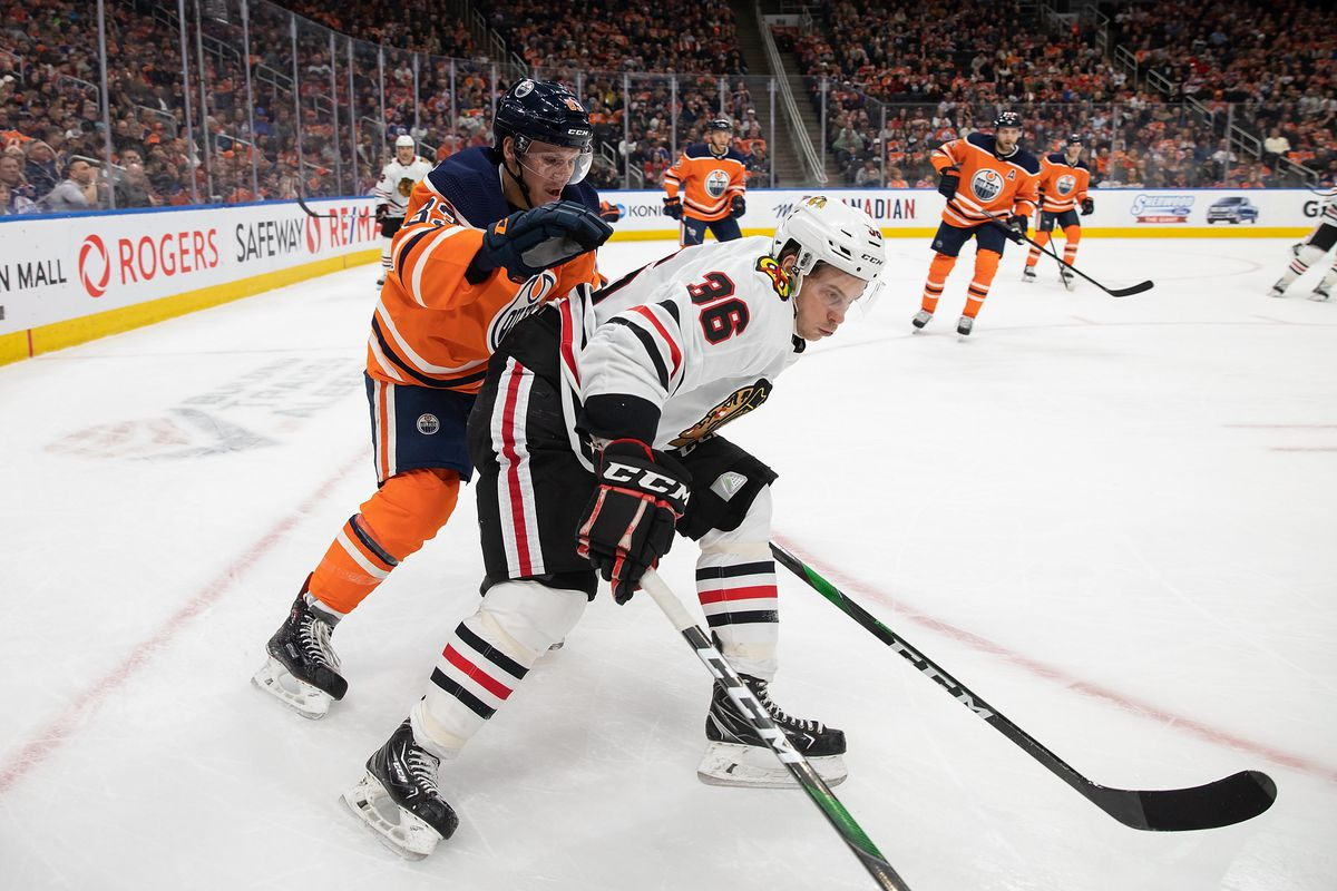 Matthew Highmore has been a surprisingly consistent member of the Blackhawks' lineup lately.