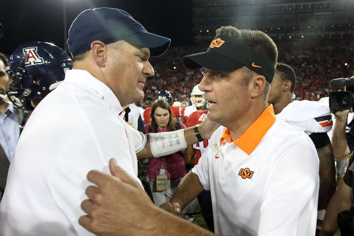 Rich Rodriguez: American Hero and Shutter Upper of Mike Gundy.