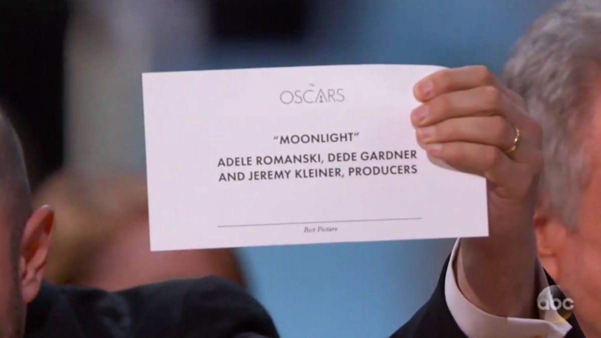 The Typography Fix That Could Have Stopped Oscars Best Picture Blunder