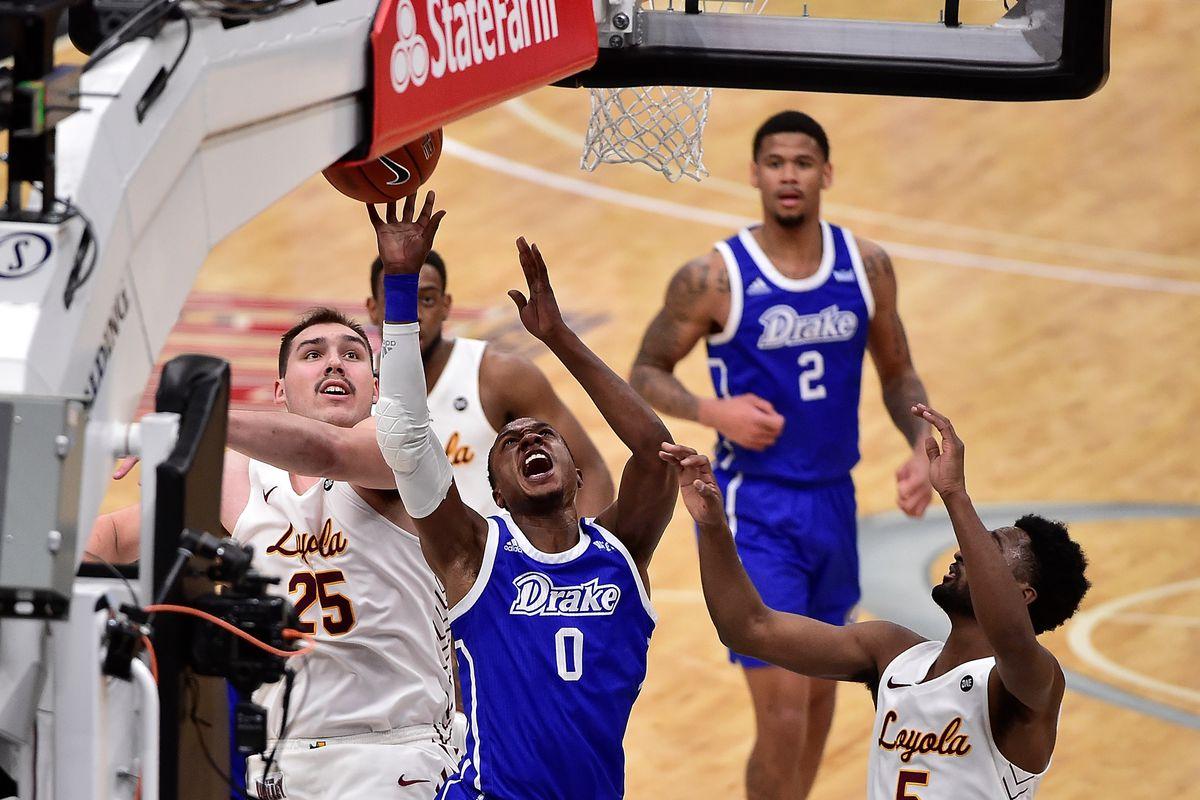 NCAA Basketball: Missouri Valley Conference Tournament-Drake vs Loyola