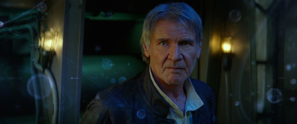Han Solo in The Force Awakens