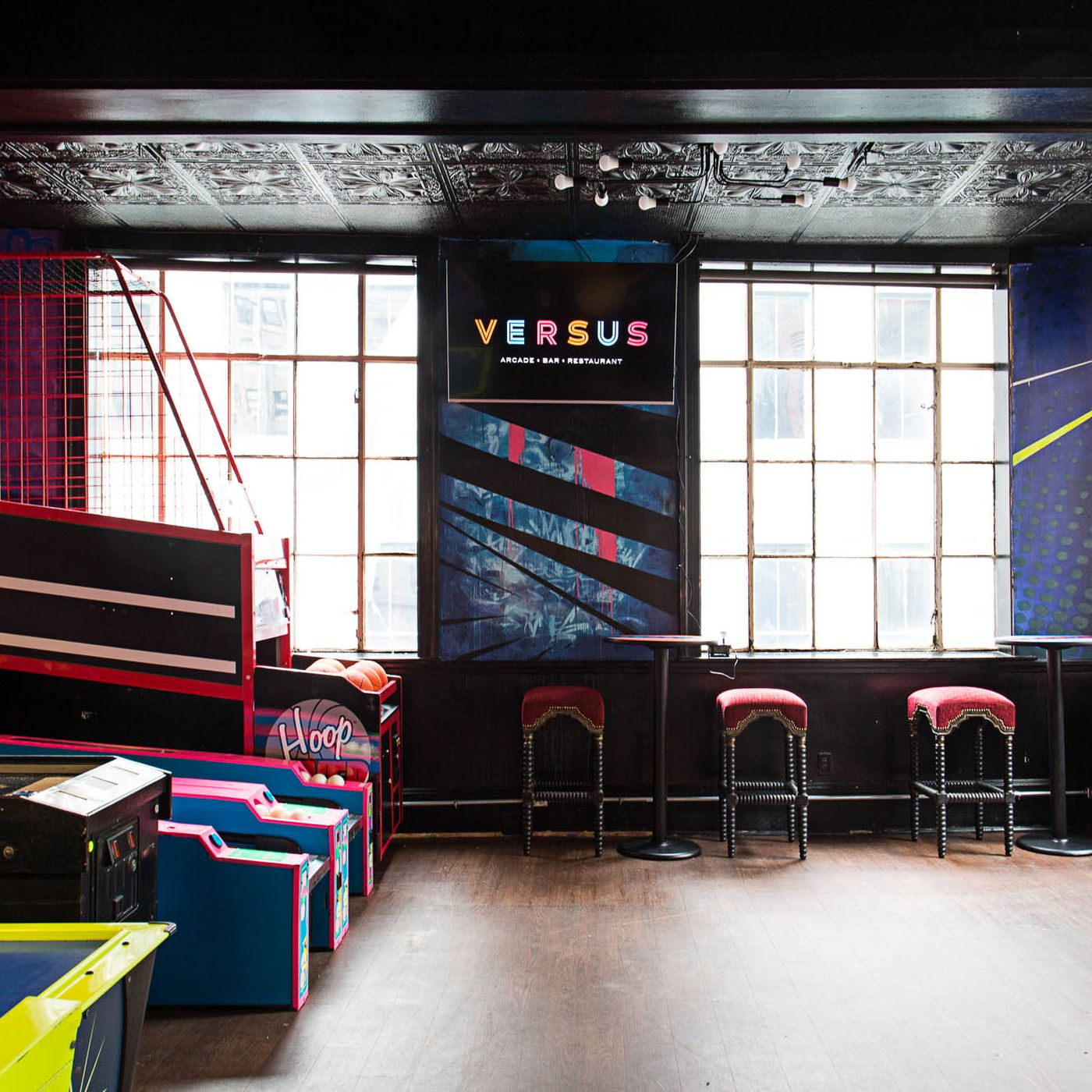Versus Arcade Bar Opens in Boston's Downtown Crossing