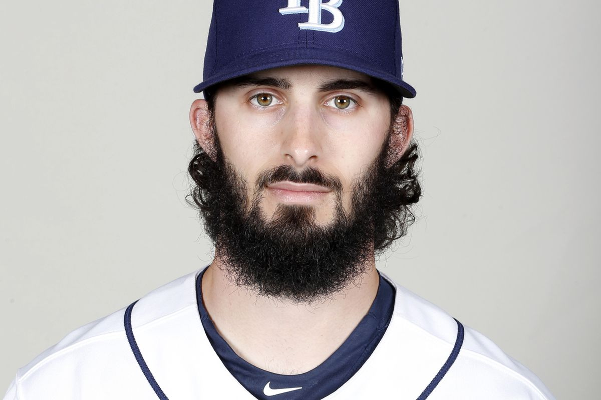 Hunter Wood's beard is a lot better the mustache he had a couple years ago