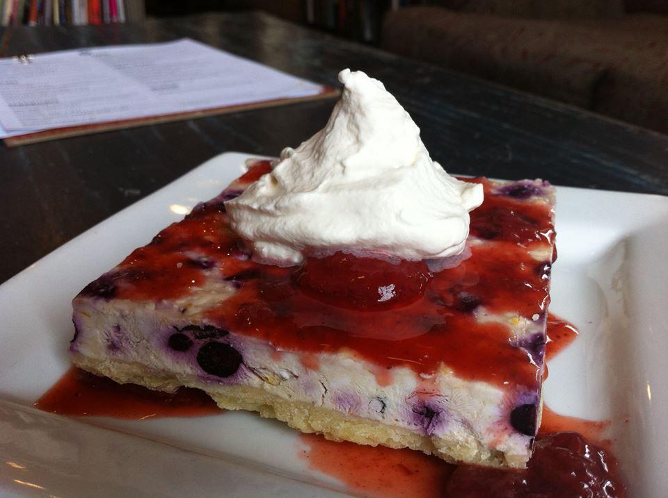 A dessert at Portsmouth Book & Bar