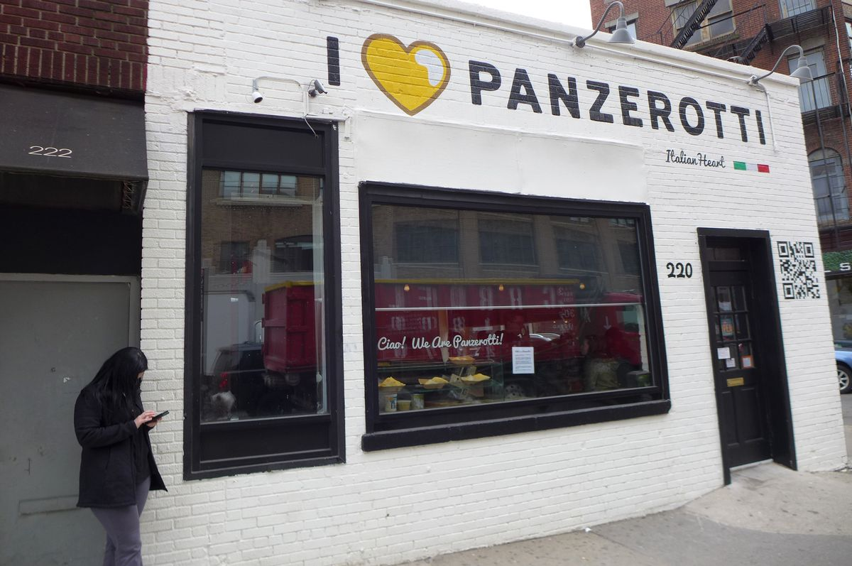 I Love Panzerotti on Varick Street