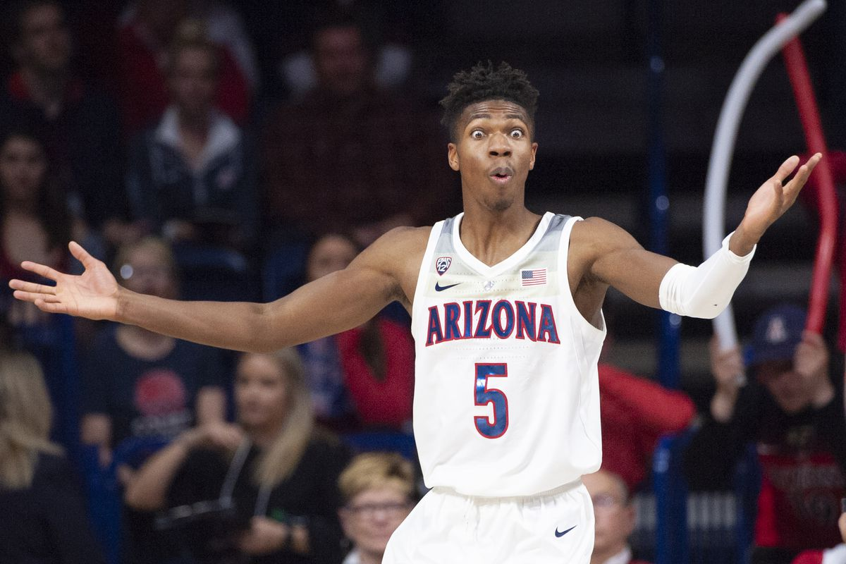 brandon-randolph-arizona-wildcats-college-nba-draft-scouting-combine-2019-utah-jazz-workout