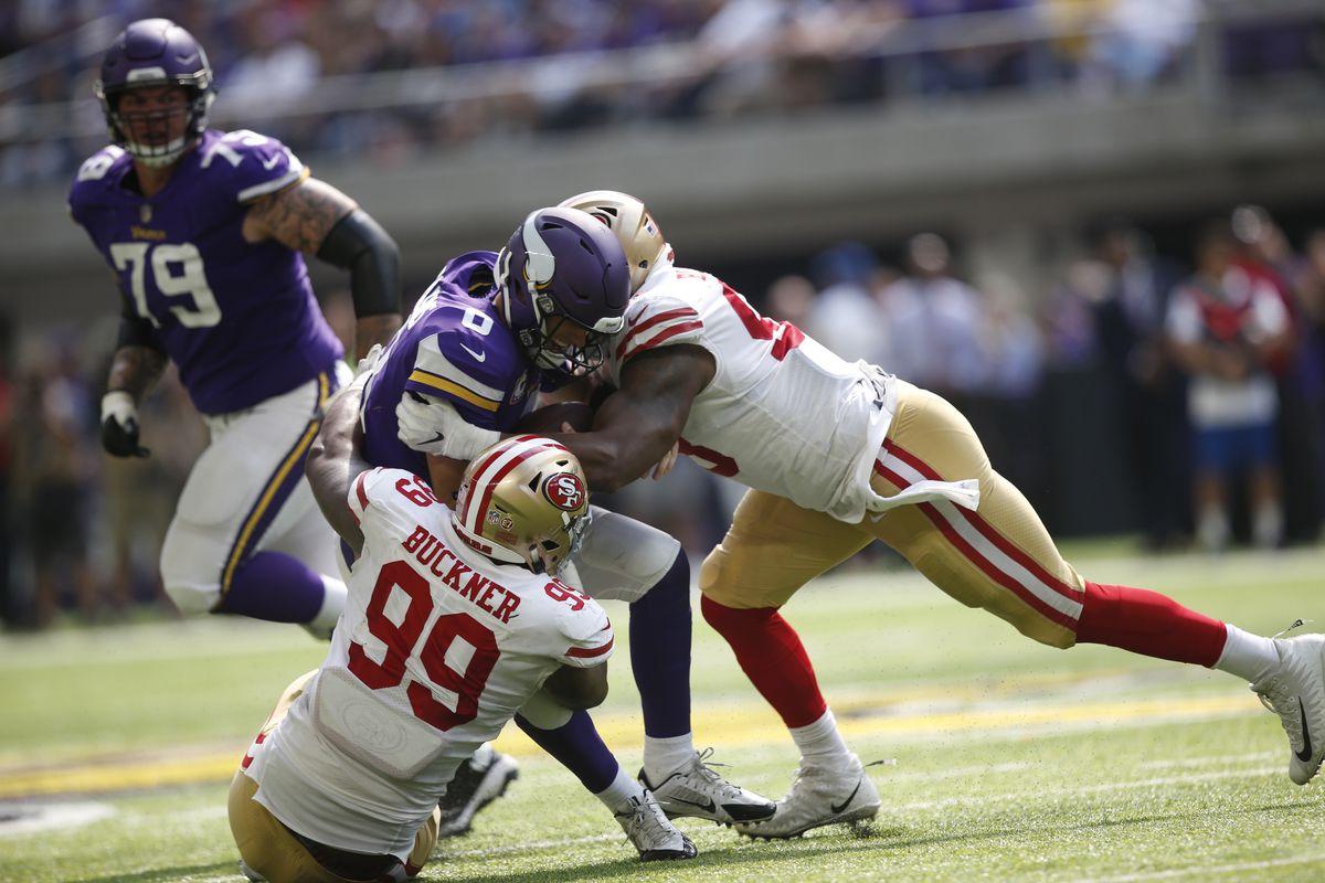 """Kết quả hình ảnh cho Minnesota Vikings vs San Francisco 49ers"""""""