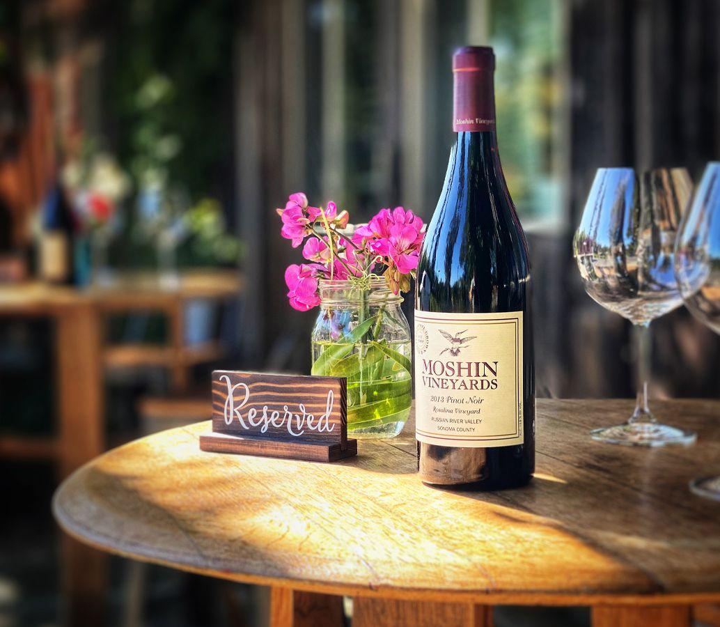 Pinot noir at Moshin winery