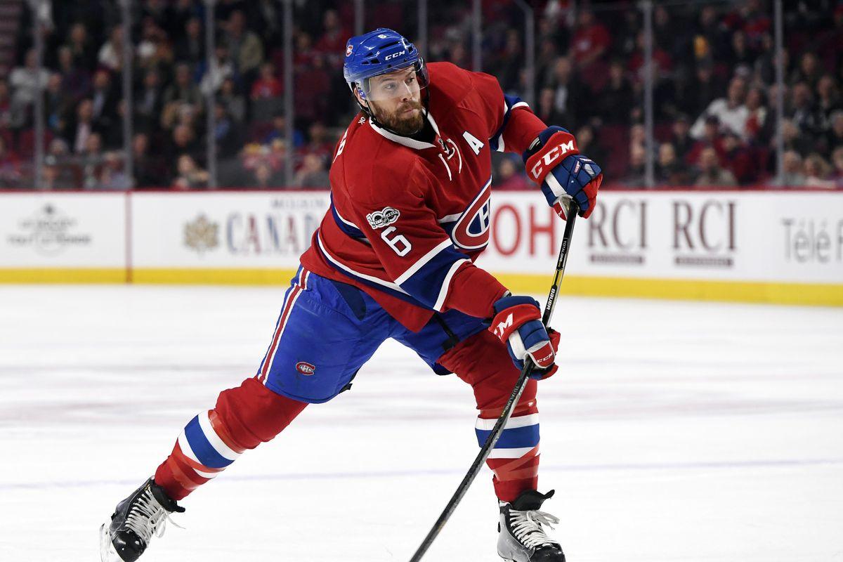 NHL: Columbus Blue Jackets at Montreal Canadiens