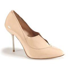 "Pedro Garcia <a href=""http://www.joanshepp.com/store/product4267.html"">Rose Heel</a>, $485 at Joan Shepp"