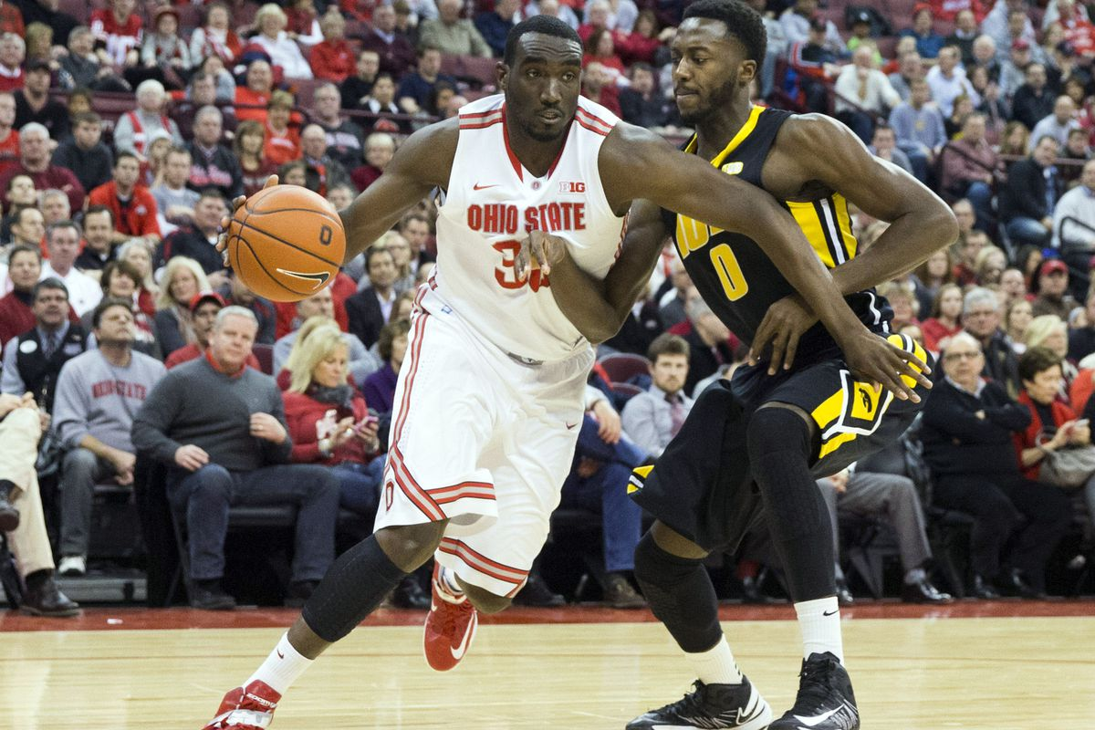 Evan Ravenel was one of a number of pleasant surprises in an Ohio State win over Iowa.