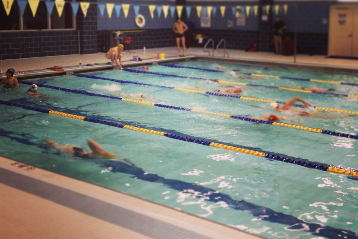 Timex Multisport Team swim practice