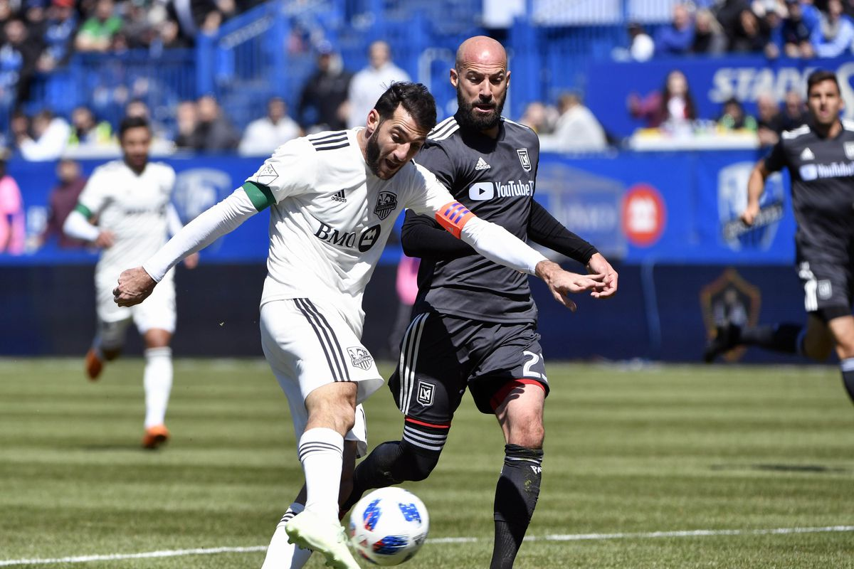 half off fe499 04ff4 Comeback kids: Montreal Impact 3, LAFC 5 - Angels on Parade