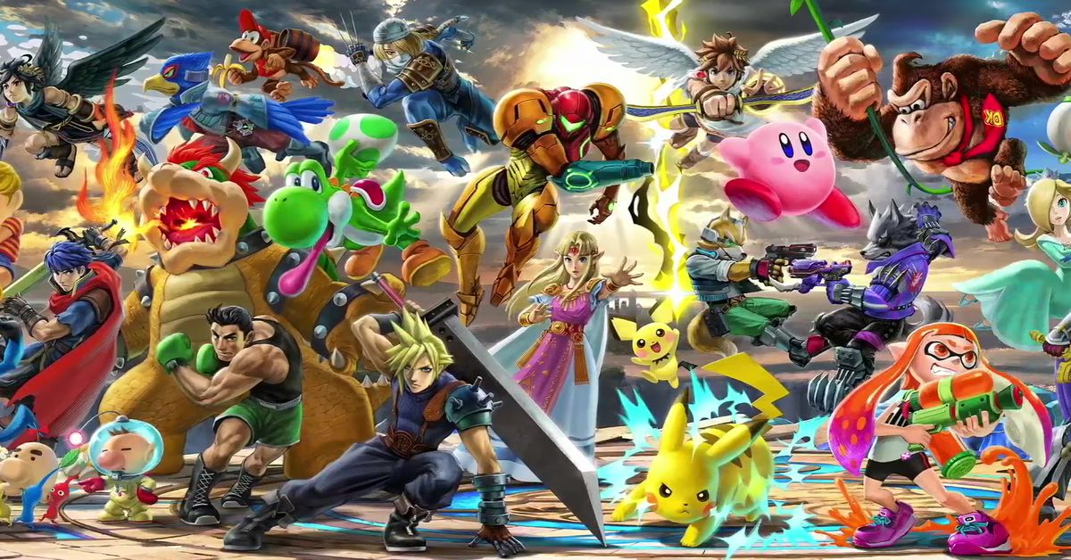 Movie Poster 2019: Super Smash Bros. Ultimate Will Include Every Previous