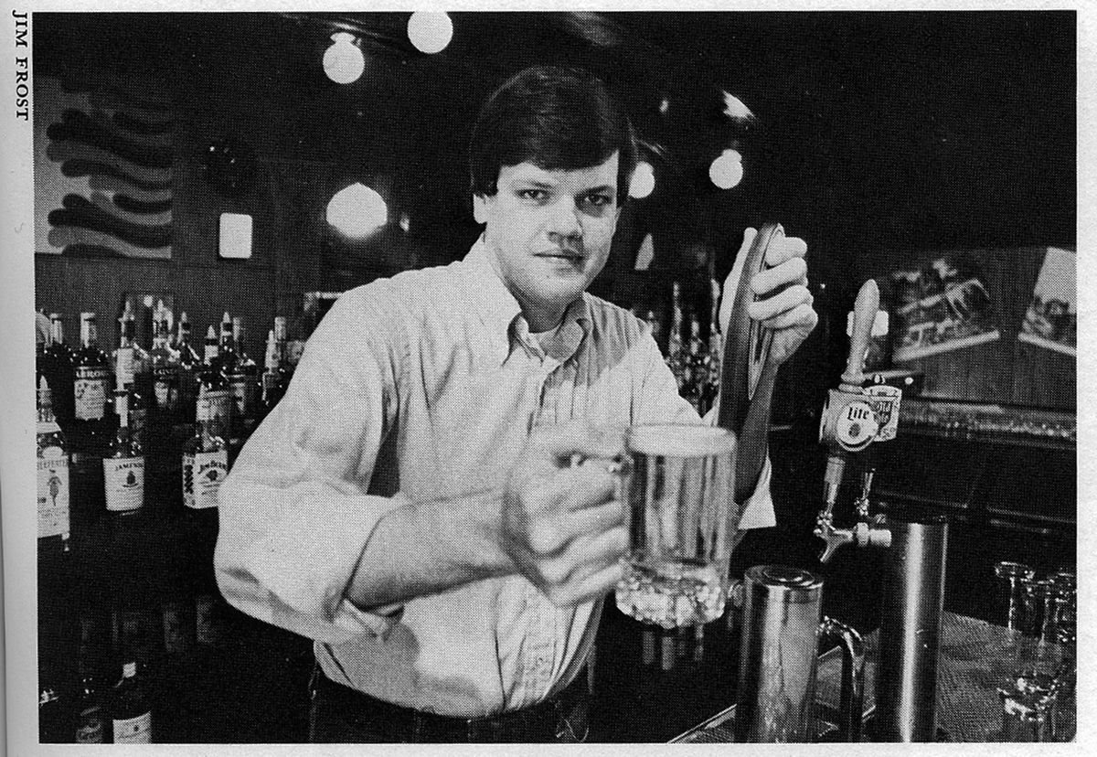 'Norty the bartender' — Zay N. Smith used a nickname to work undercover at the Mirage.