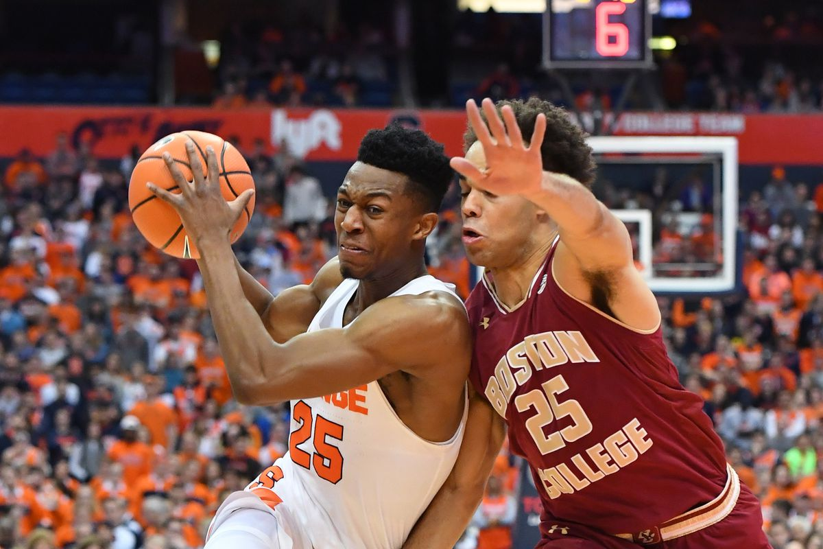 Bc At Syracuse Final Score And Reactions Bc Interruption