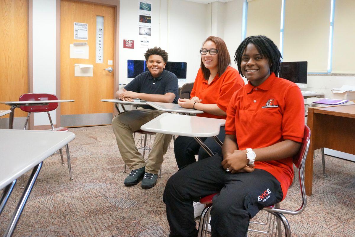 Manual High School started using restorative justice last year.
